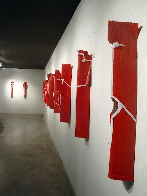 """""""Máscaras - Personajes""""  Jose A. Amate en el Espacio Cultural Adolfo Dominguez"""
