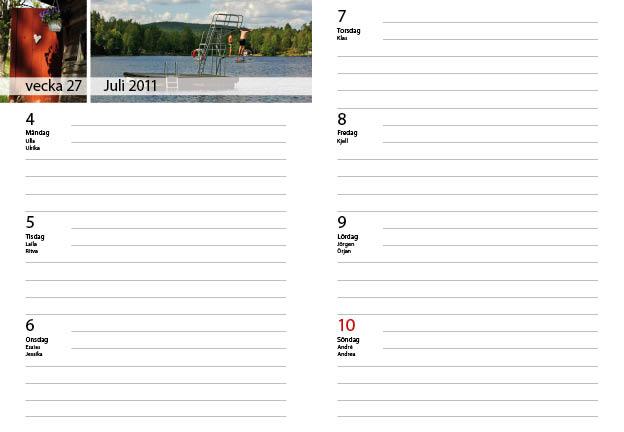veckokalender