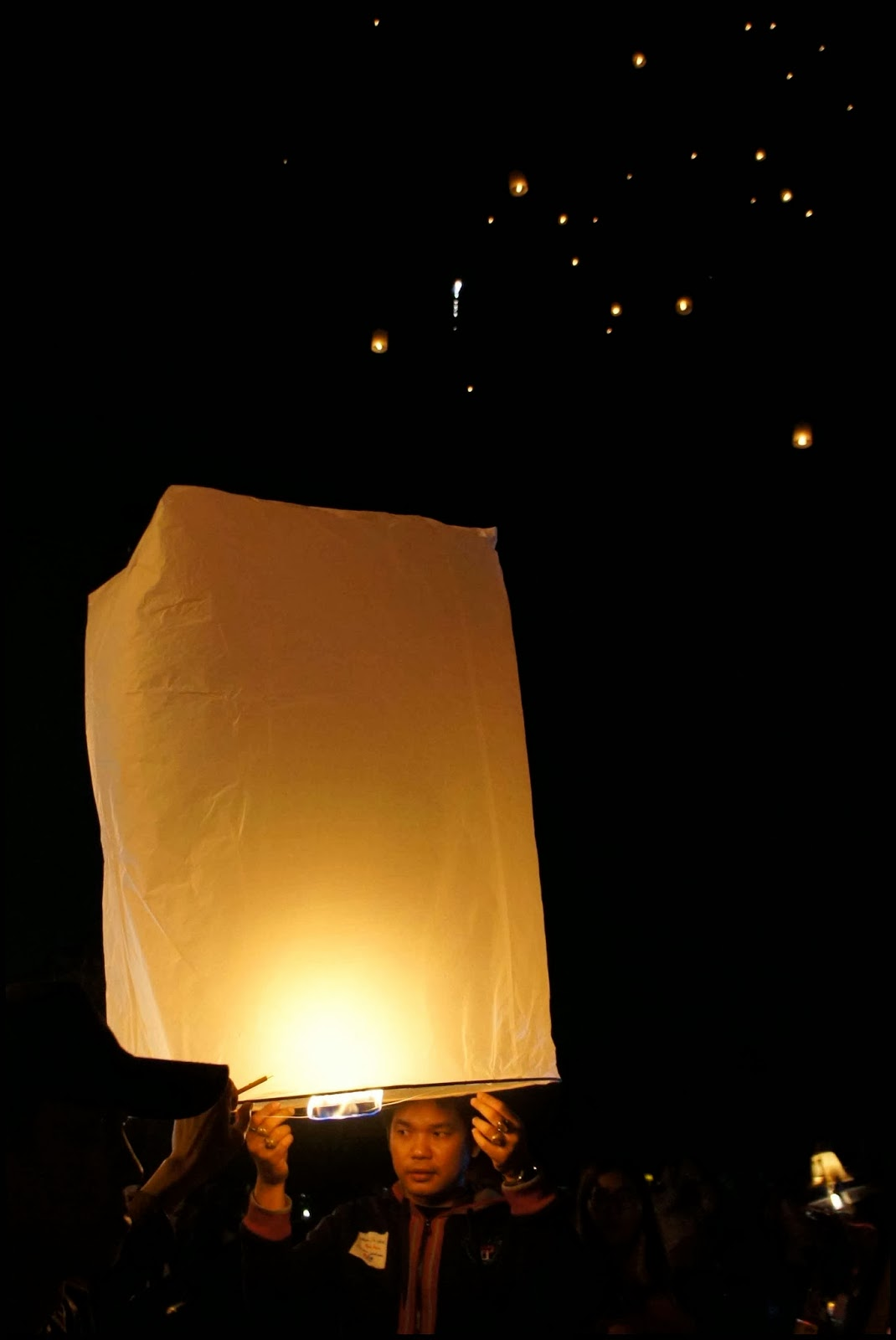 Chiang Mai Sky Lantern New Year's Eve