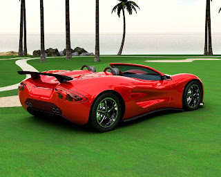 red sports cars