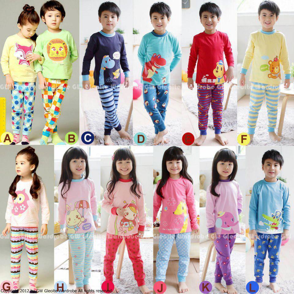 piyama gw 43 toko adik lucu jual baju anak antara lain baju tidur atau