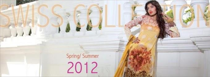 Firdous Swiss Collection Spring&Summer 2012 | Firdous lawn 2012 Latest Designs