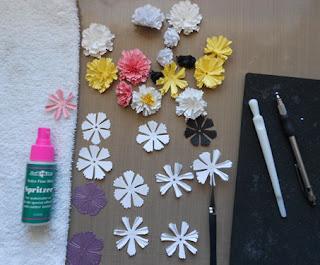 Selma 39 S Stamping Corner And Floral Designs Sweet William