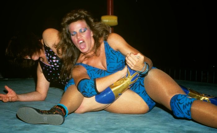 Wendi Richter - Female Wrestling - WWF