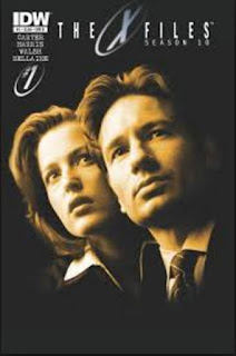 X Files Temporada 10 Poster