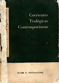 CORRIENTES TEOLÓGICAS CONTEMPORÁNEAS - HUGH ROSS MACKINTOSH