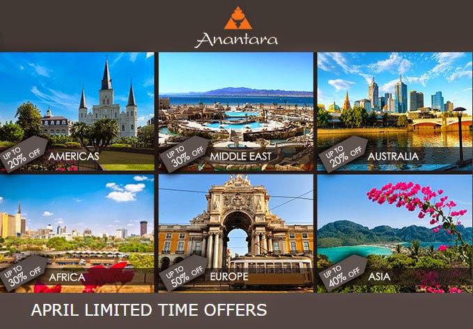 【限時閃銷】 Anantara 安纳塔拉、Marco Polo 馬哥孛羅 等酒店 Resort 全線低至5折,優惠至4月30日。