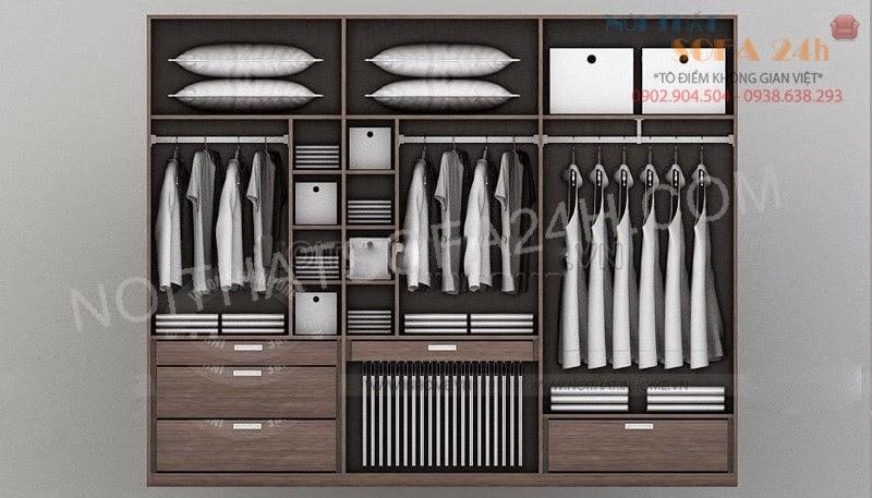 Tủ áo TA054