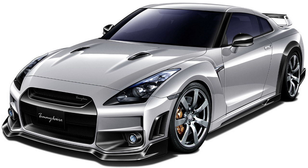 Nissan Gt R R35 Takes The Concept Of This Dragon The