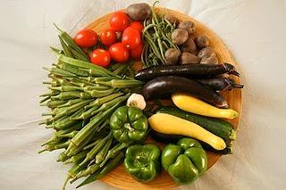 Tabla de calorías-hortalizas