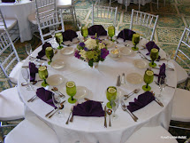 Weddings Hawthorne Hotel Purple And Green In