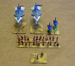15mm figures by Peter Pig, with warships from Games Workshop