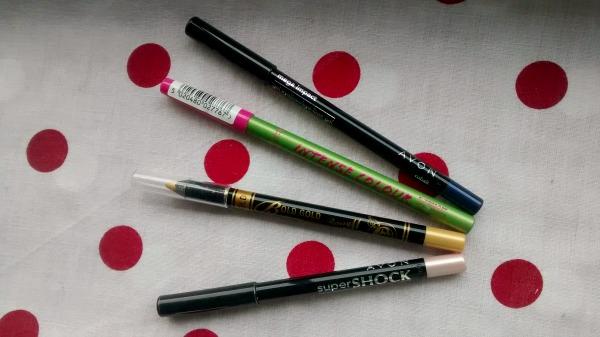 Colourful Drugstore Eyeliners