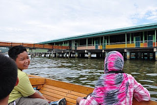 One of the primary school at Kampong Ayer