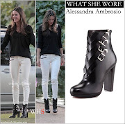 WHO: Alessandra Ambrosio interviewed and filmed in the park in Los Angeles .
