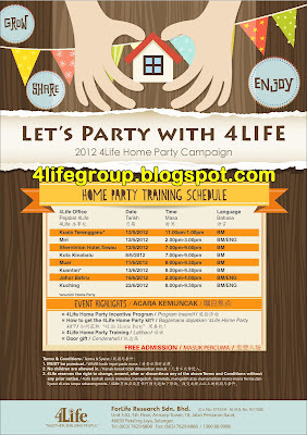 2012 4Life Home Party Campaign