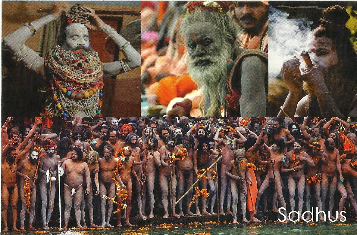 Sadhus Of India http://indian-heritage-and-culture.blogspot.com/2013/02/sadhus-post-cards.html