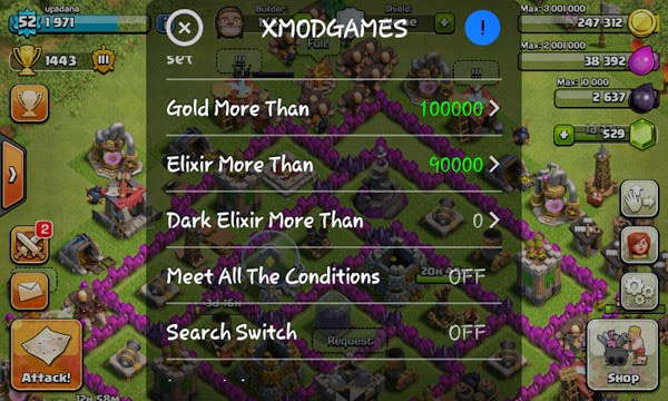 Cheat Clash of Clans  Gold Elixir  Terbaru 2015