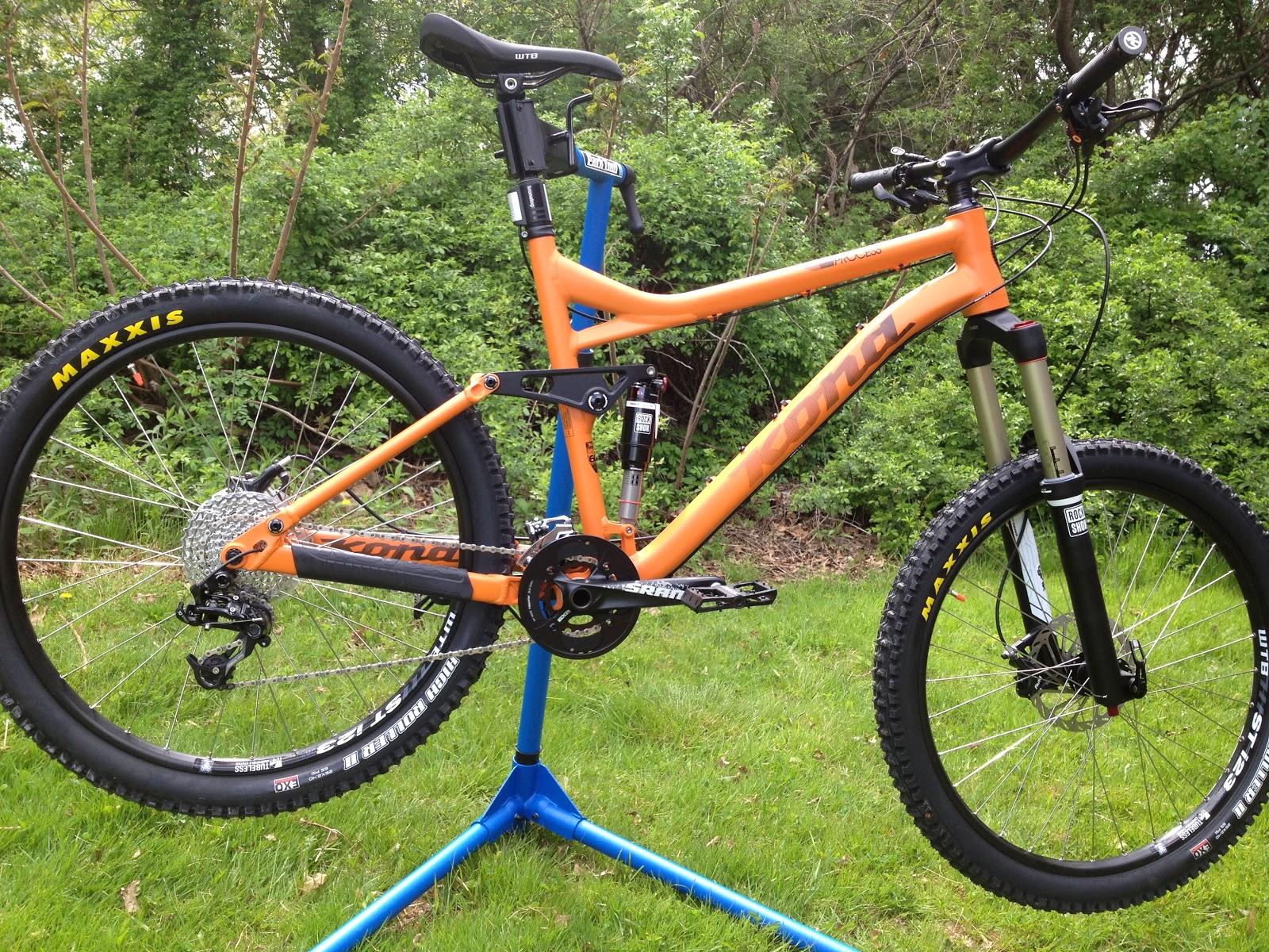 Cutting Edge Mountain Bikes Kona Process