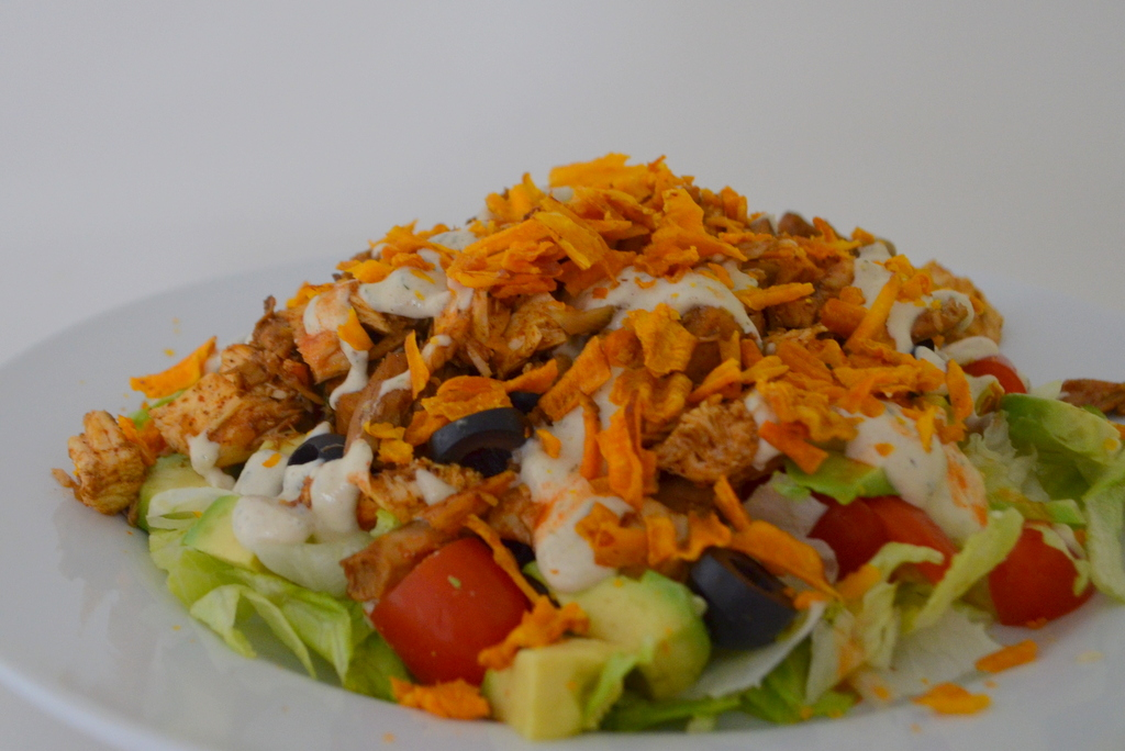 Paleo chicken ranch taco salad | Yummy Recipes & Food Related | Pinte ...