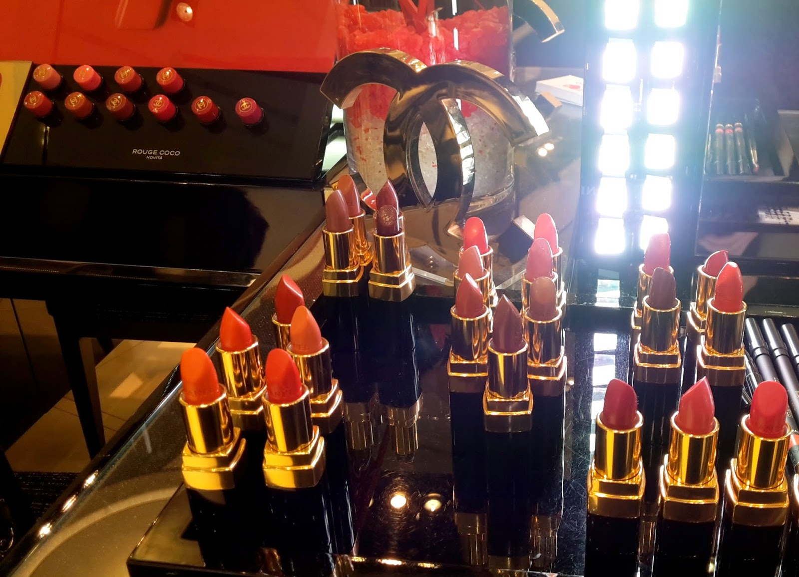 rouge coco chanel lipstick rossetto, rouge coco chanel gabrielle 444