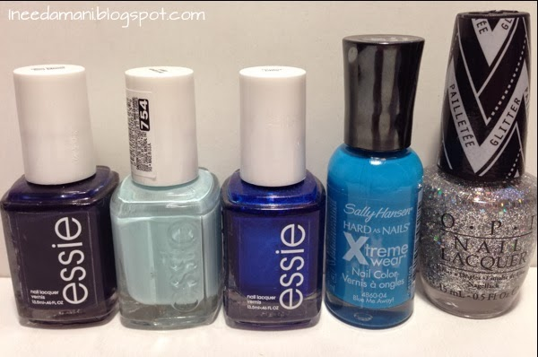 essie after school boy blazer essie mint candy apple essie aruba blue sally hansen xtreme wear blue me away gwen stefani opi in true stefani fashion