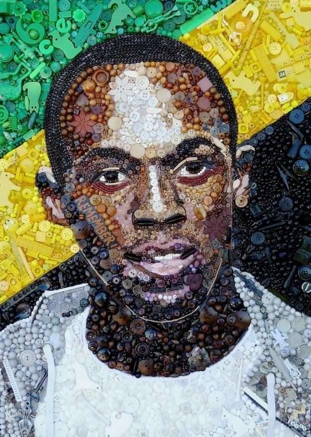Amazing portraits of iconic figures