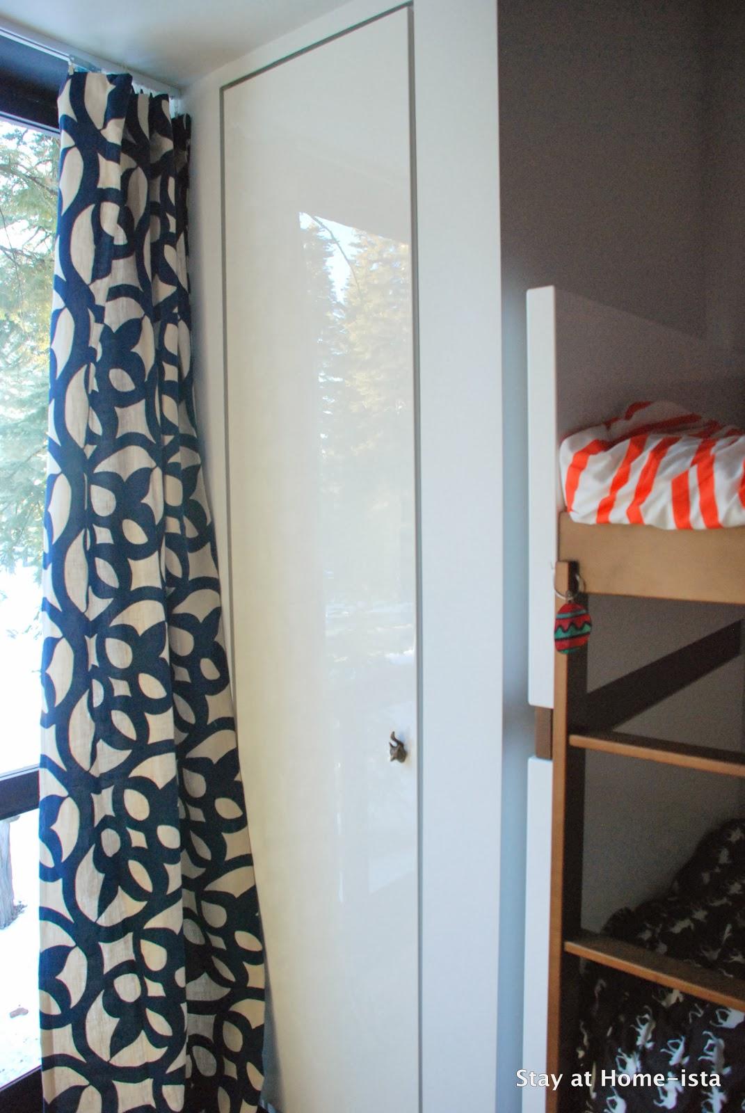 Ikea Pax closet system built ins