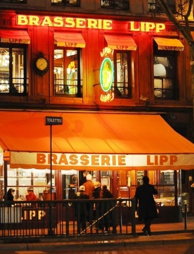 Cafe Lipp Paris Menu