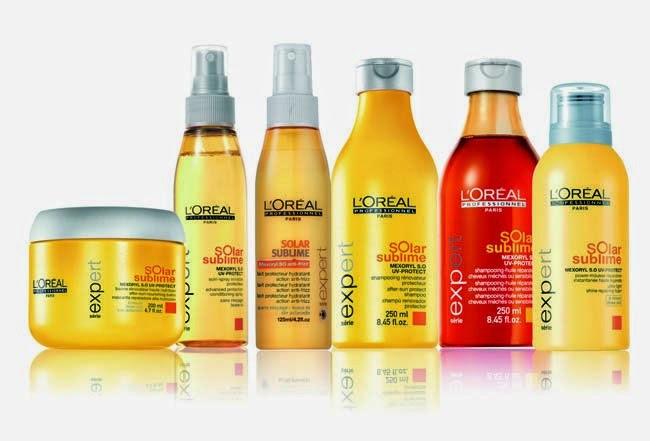 Lote solar cabello l´oreal sublime