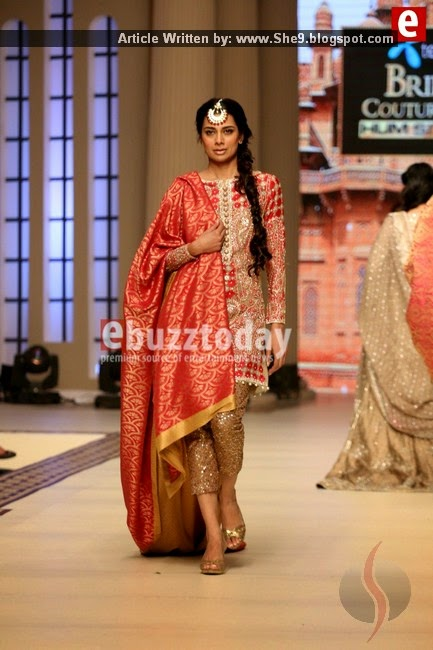 Faraz Manan Bridal Couture at TBCW2014