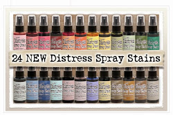 Second Release of Tim Holtz Distress Stain Sprays