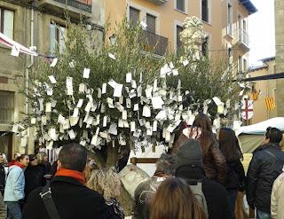 árbol de los deseos olivo Vic Osona Barcelona