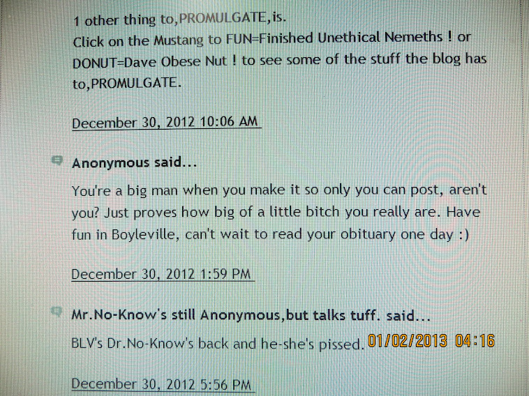 Why don't the Anonymous tuff guys start their own blog site with their own name ?
