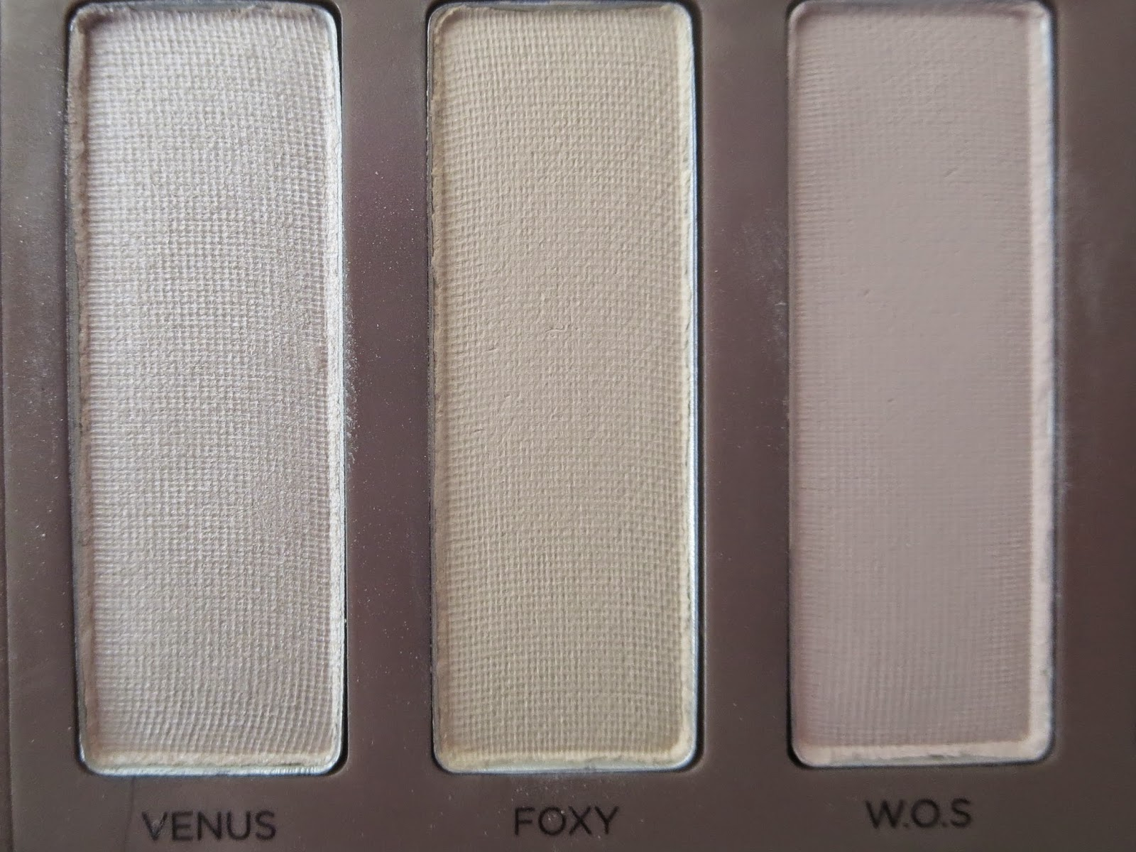 a picture of Urban Decay Naked Basics Palette; Venus, Foxy, W.O.S