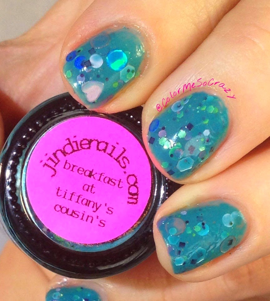 Breakfast at Tiffany's Cousin's by Jindie Nails