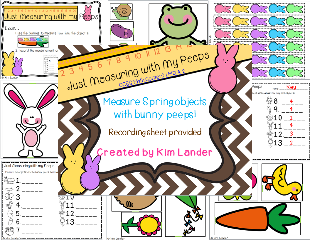http://www.teacherspayteachers.com/Product/Just-Measuring-with-my-Peeps-Common-Core-Aligned-1182580