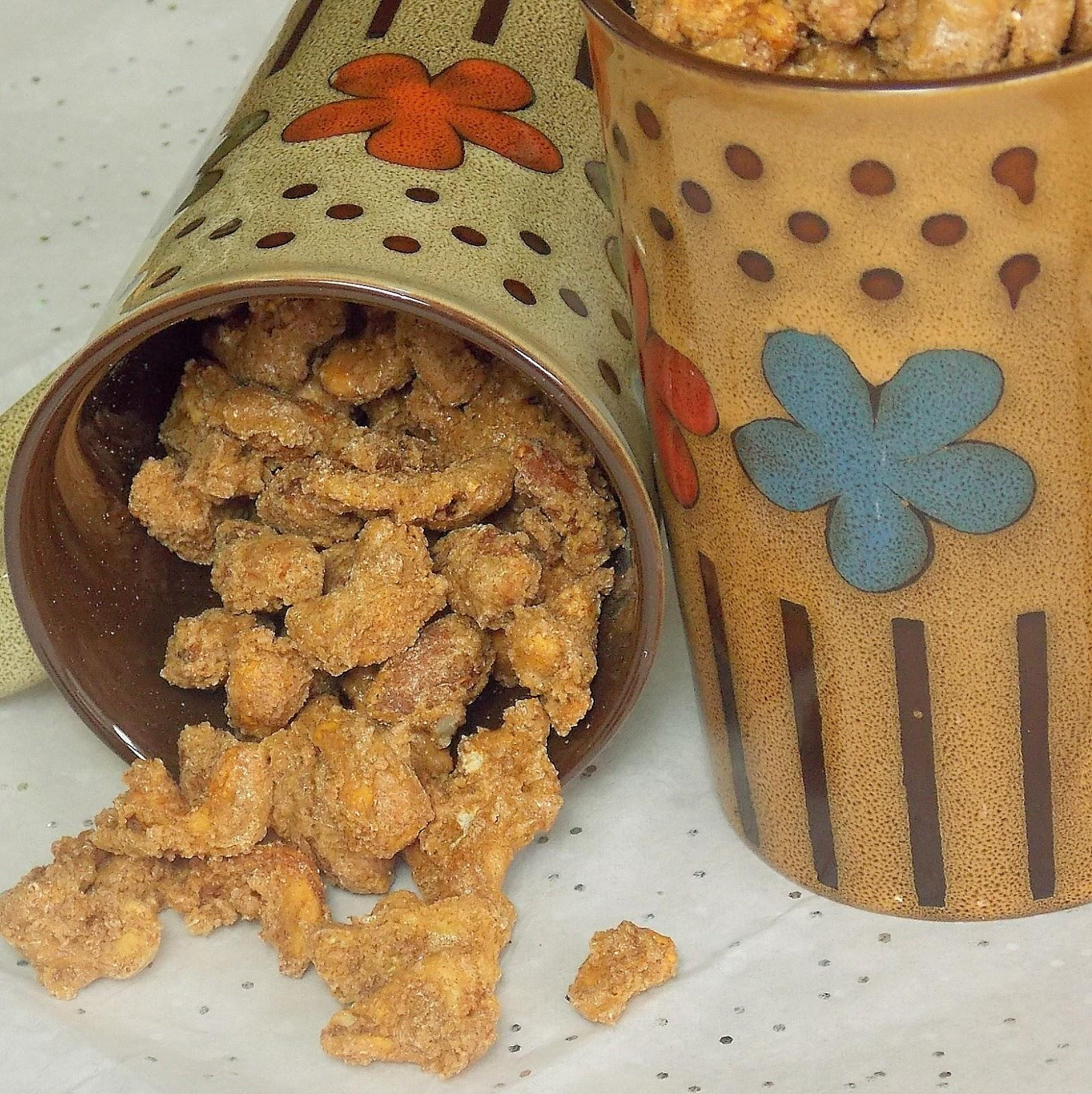 Cinnamon Roasted Nuts - Grumpy's Honey Bunch