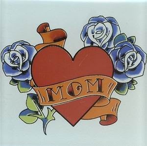 Mom Tattoos, Tattooing