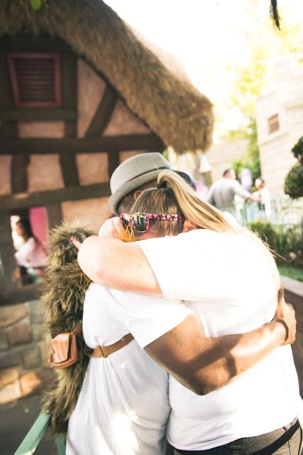 Disneyland Engagement Photos - John W. Farrand Photography