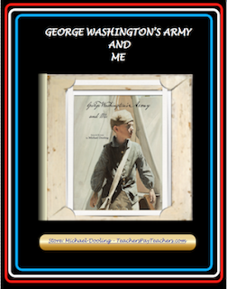 photo of George Washington's Army and Me, PDF, Michael Dooliing, TeachersPayTeachers.com, Common Core Informational text