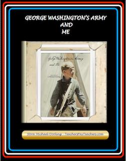 photo of George Washington's Army and Me, PDF, Michael Dooliing, TeachersPayTeachers.com, Common Core Informational text