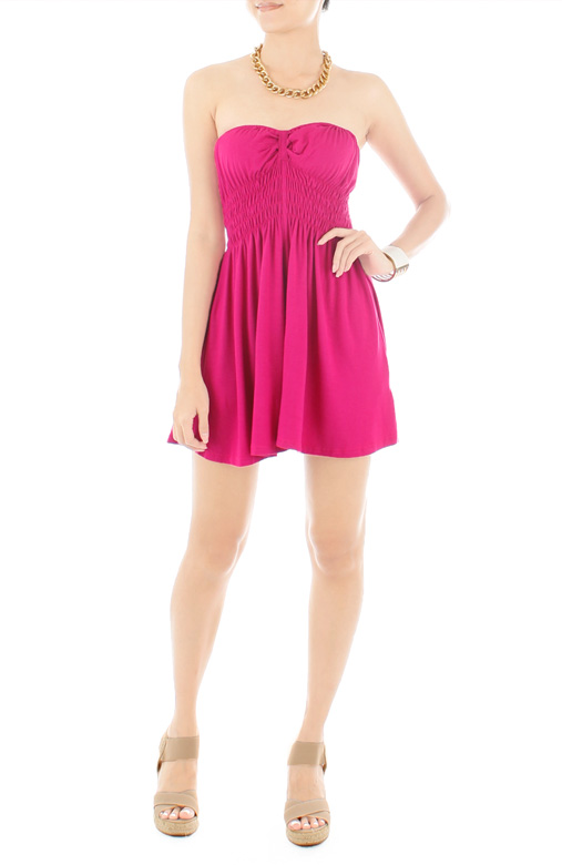 Sweetheart Ribbon Back PETITE Romper