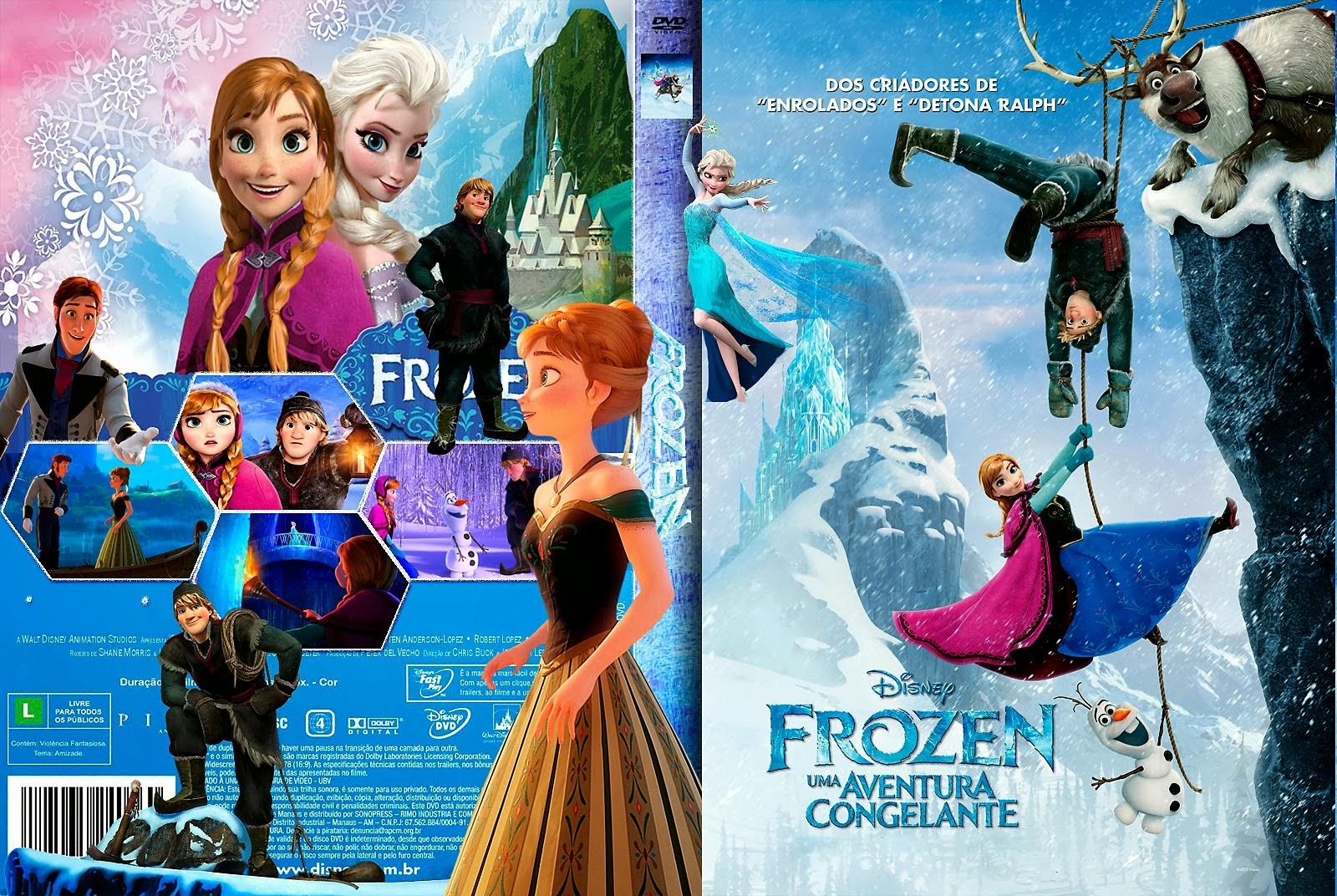 Imagens Frozen Uma Aventura Congelante Amazing frozen uma aventura congelante | capas x filmes