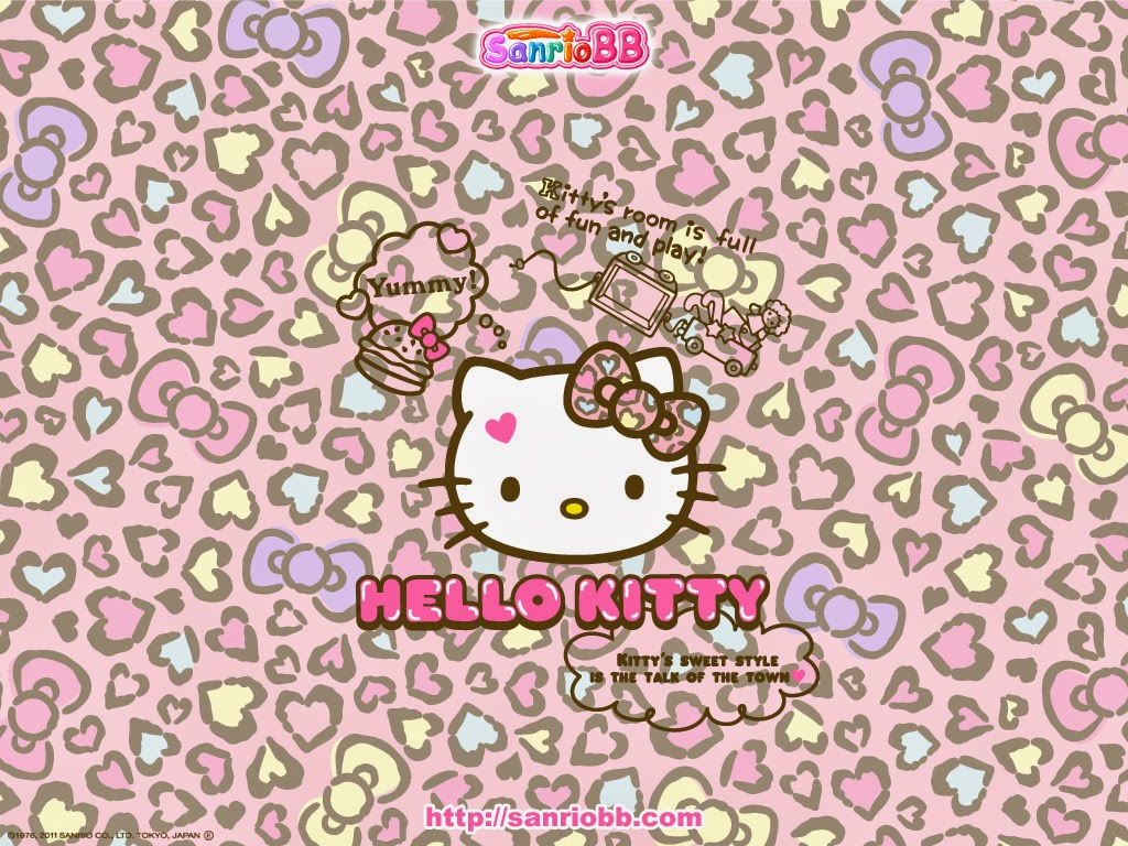 Fantastic Wallpaper Hello Kitty Shelf - Hello-Kitty-Wallpaper-With-Bows-And-Leopard-Print-Kawaii-Blog1  Photograph_851829.jpg