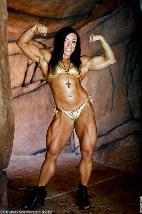 Karen Garrett Female Muscle Bodybuilding Blog Fitness FTVideo