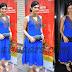 Shradda Das in Blue Netted Salwar Kameez