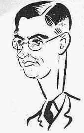 Caricatura de Max Euwe