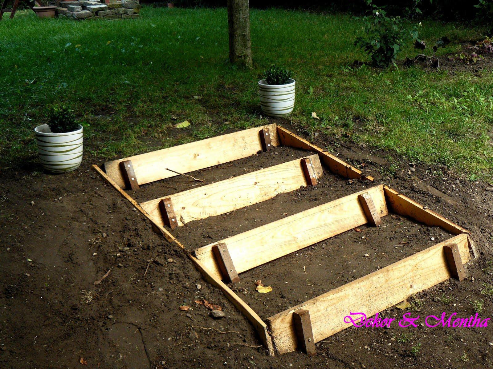 Kerti lépcsőt építettem - Dekor és Mentha
