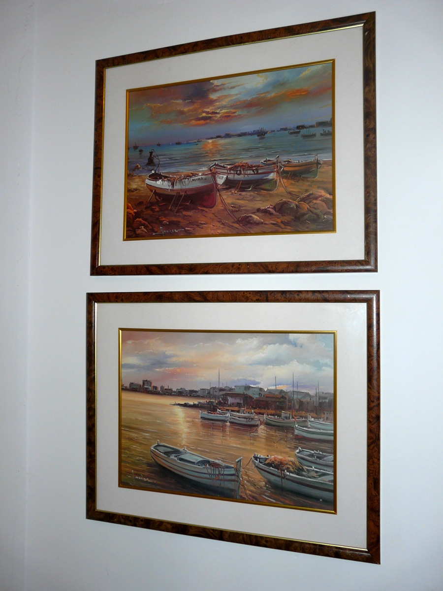 Tienda venta blogspot com es cuadros de barcas dos - Marcos para laminas ...